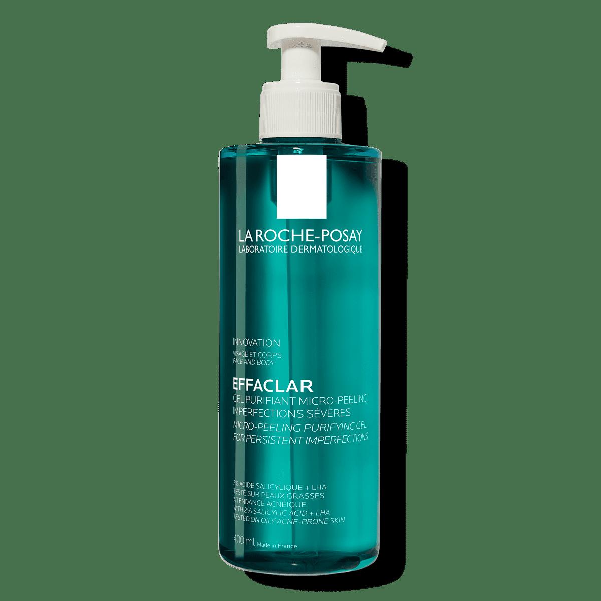Effaclar Micro Peeling Purifying Gel 400ml 2% Salicylic Acid Oily Skin FSS