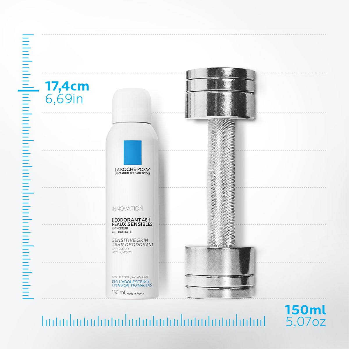 La Roche Posay ProductPage Deodorant 48h Sensitive Skin Spray Anti Odo