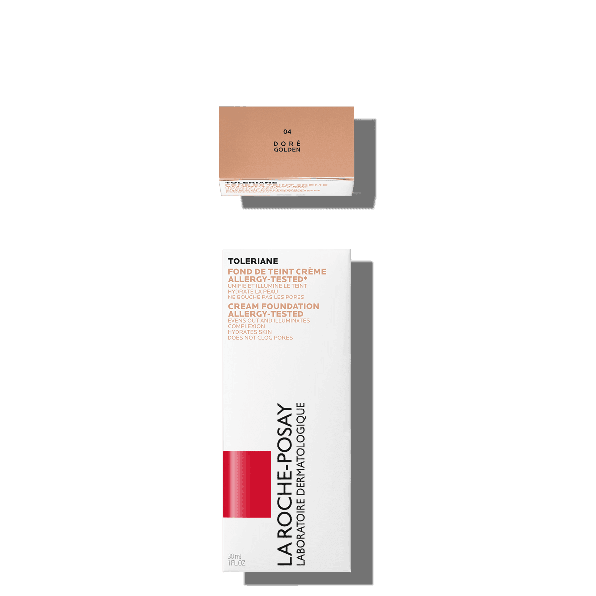 La Roche Posay Sensitive Toleriane Make up CREAM_FOUNDATION_04GOLDEN 3