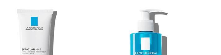 La Roche Posay acne effaclar range page bottom